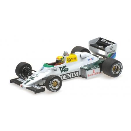 MINICHAMPS Williams FW08C Senna 1983