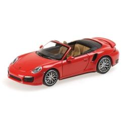 MINICHAMPS Porsche 911 Turbo S Cabriolet 2013