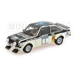 MINICHAMPS 100758401 Ford Escort II RS1800 Makinen Vainqueur RAC 1975