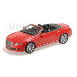 MINICHAMPS 107139330 Bentley Continental GT Speed Convertible 2013