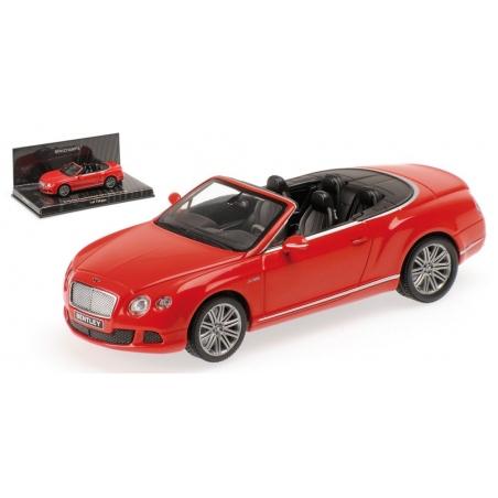 MINICHAMPS Bentley Continental GT Speed Convertible 2012