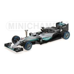 MINICHAMPS 110161006 Mercedes W07 Rosberg Champion 2016