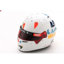 SPARK 5HF052 Helmet Lando Norris Silverstone 2020