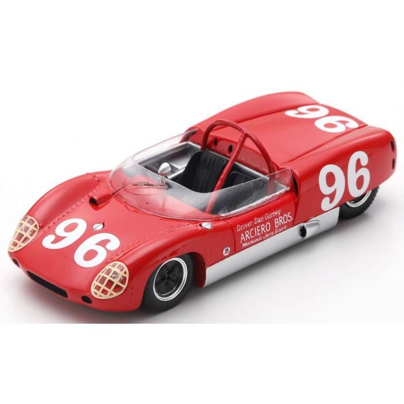 SPARK Ford GT40 MkI n°62 Le Mans 1967 (%)