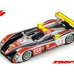 SPARK 43LM08 Audi R10 TDI n°2 Vainqueur 24H Le Mans 2008