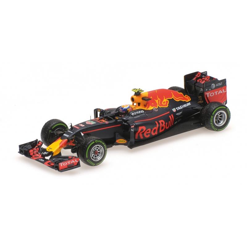 MINICHAMPS Red Bull Renault RB12 Verstappen Interlagos 2016