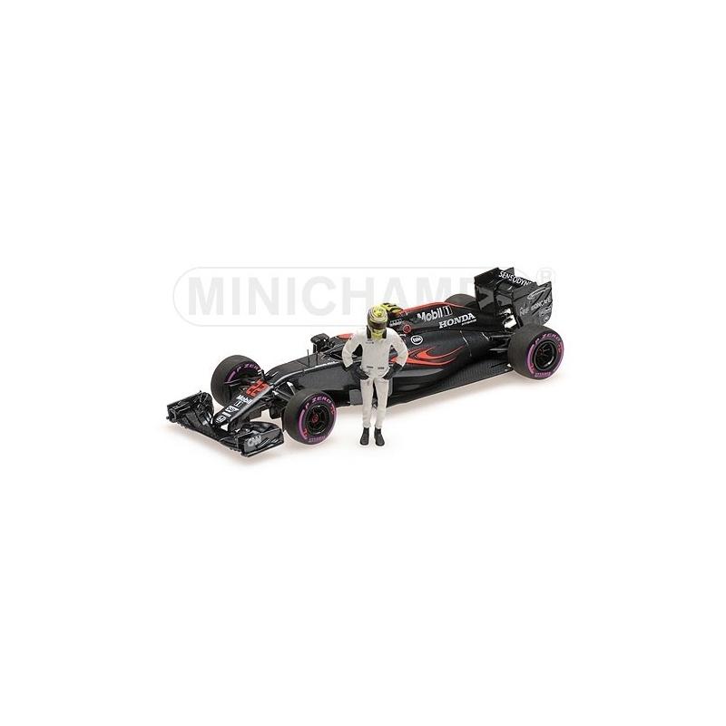 Minichamps McLaren Honda MP4-31 Button Abu Dhabi 2016