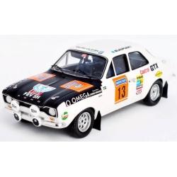 TROFEU Ford Escort MK I TC n°10 Mikkola 1000 Lacs 1970