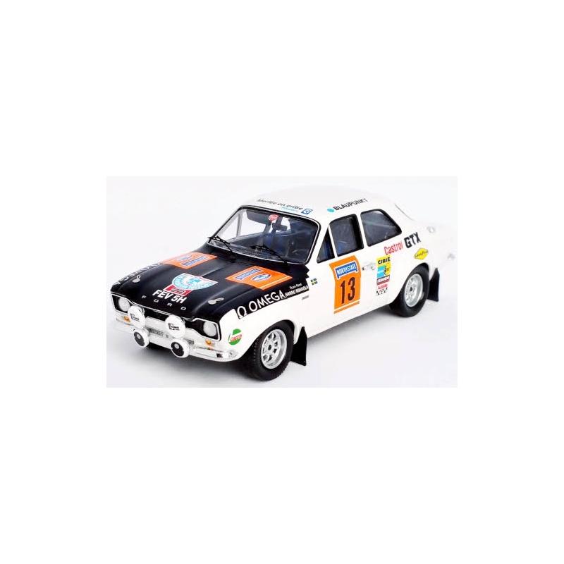 TROFEU Ford Escort MK I TC n°10 Mikkola 1000 Lakes 1970