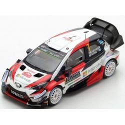 SPARK Toyota Yaris WRC n°7...