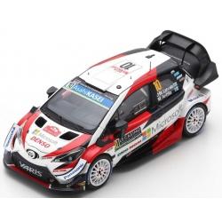 SPARK TOYOTA Yaris WRC n°10...