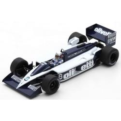 SPARK 18S678 Brabham BT55 n°8 de Angelis Monaco 1986