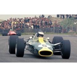 SPARK 18S588  Lotus 49 n°5 Clark Vainqueur Zandvoort 1967
