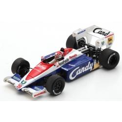 SPARK S2782 Toleman TG184 n°20 Martini Practice Monza 1984