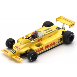 SPARK S4580 Fittipaldi F8 n°20 Fittipaldi Brands Hatch 1980
