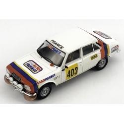 SPARK S5632 Peugeot 504 n°403 Guichet Winner Rallye Codasur 1979