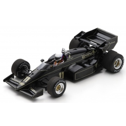 SPARK S7290 Lotus 95T n°11 de Angelis Detroit 1984