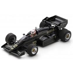 SPARK S7291 Lotus 95T n°12 Mansell Zandvoort 1984