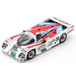 SPARK S7510 Porsche 962 C n°55 24H Le Mans 1986