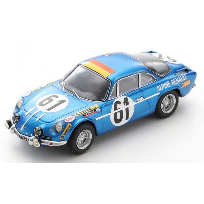 SPARK Alpine A110 n°61 24H Le Mans 1968
