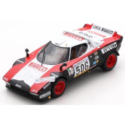 SPARK SI011 Lancia Stratos n°506 Vainqueur Giro d'Italia 1978