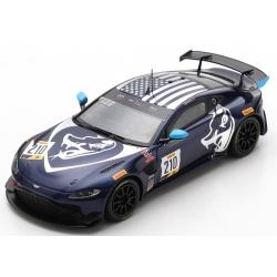 SPARK US106 Aston Martin Vantage GT4 n°210 100e Podium Pirelli GT4 America Austin 2020