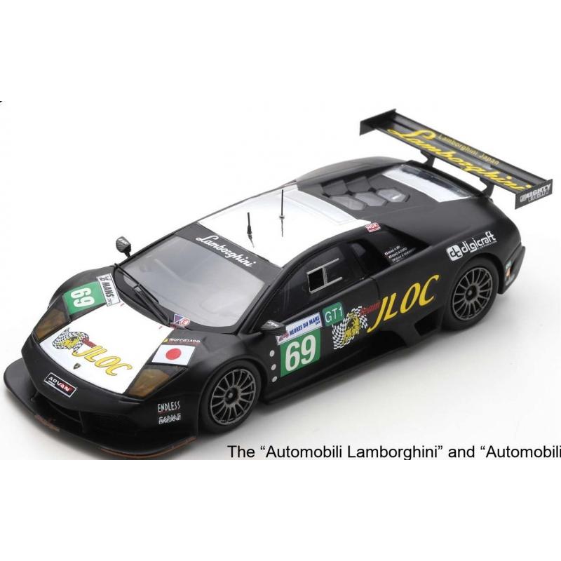 SPARK Lamborghini Murciélago R-SV LM n°69 24H Le Mans 2010