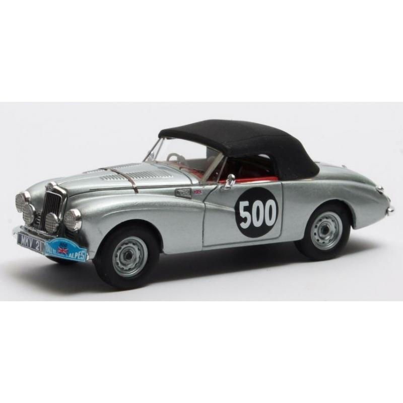 MATRIX Sunbeam Alpine n°500 Coupe des Alpes Moss / Cutts 1954