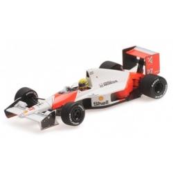 MINICHAMPS 547904399 McLaren Honda MP4/5B Senna Test Monza 1990