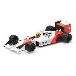 MINICHAMPS 547884412 McLaren Honda MP4/4 Senna Vainqueur Silverstone 1988