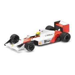 MINICHAMPS 547884399 McLaren Honda MP4/4B Senna Test 1988