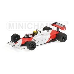 MINICHAMPS 540834307 McLaren Ford MP4-1C Senna Test Silverstone 1983