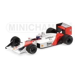 MINICHAMPS 537884111 McLaren Honda MP4/4 Prost Vainqueur Jacarepagua 1988