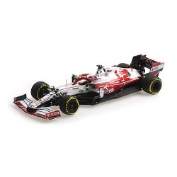 MINICHAMPS 417210107 Alfa Romeo C41 Raikkonen Bahrain 2021