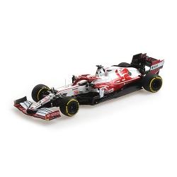 MINICHAMPS 417219988 Alfa Romeo C41 Kubica Shakedown Barcelona 2021
