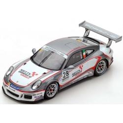 SPARK UK003  Porsche Carrera Cup Great Britain n°28 Eastwood Champion 2017