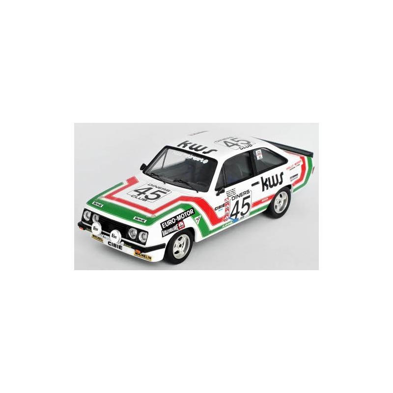 TROFEU RRBE32 Ford Escort MKII RS 2000 n°45 24h Spa 1978