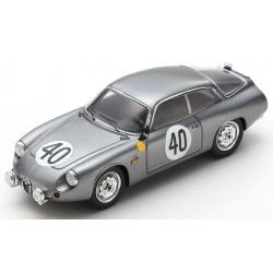 SPARK S9051 Alfa Romeo Giulietta Sport Zagato n°40 24H Le Mans 1962