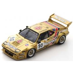 SPARK S6407 BMW M1 n°90 24H Le Mans 1983