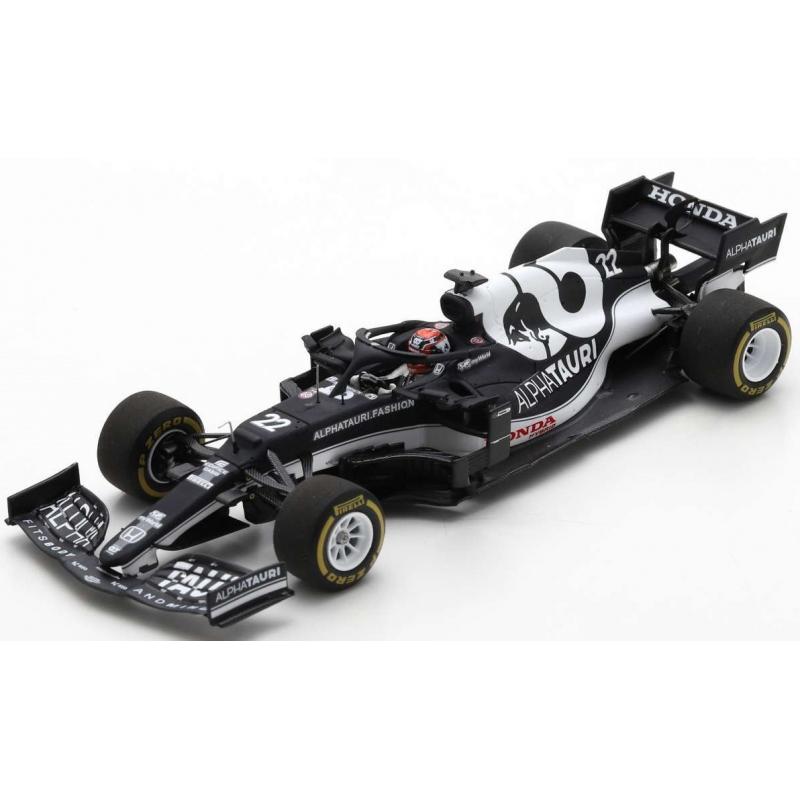 SPARK S7669 Alphatauri Honda AT02 n°22 Tsunoda Bahrain 2021