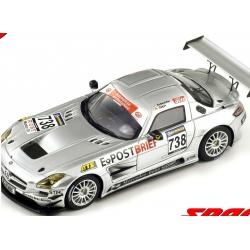 SPARK SG006 Mercedes SLS AMG GT3 n°738 VLN 2010