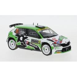 IXO RAM788LQ Skoda Fabia Rally 2 EVO n°25 Mikkelsen Monte Carlo 2021