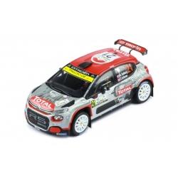 IXO RAM774 Citroen C3 R5 n°21 Ostberg Monza 2020