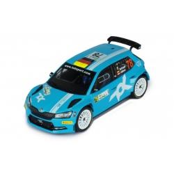 IXO RAM779LQ Skoda Fabia R5 Evo n°78 Engel Monza 2020