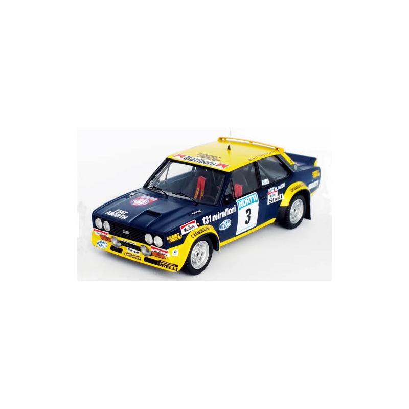 TROFEU RRFI10 Fiat 131 Abarth n°3 Alen 1000 Lacs 1976