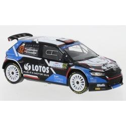 IXO RAM802LQ Skoda Fabia Rally 2 EVO n°32 Kajetanowicz Croatia 2021
