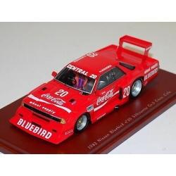TRUESCALE TSM104314 Nissan Bluebird Gr.5 Coca Cola n°20 Silhouette 1982