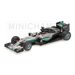 MINICHAMPS 417160344 Mercedes W07 Hamilton Vainqueur Monaco 2016