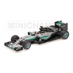 MINICHAMPS 417160344 Mercedes W07 Hamilton Winner Monaco 2016
