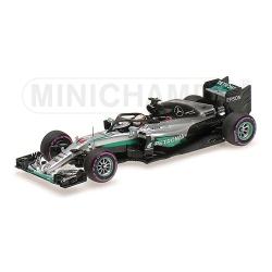 MINICHAMPS 417160444 Mercedes W07 Hamilton Test Halo Singapour 2016